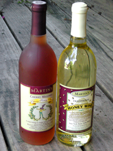 honey wine from Montezuma Winery