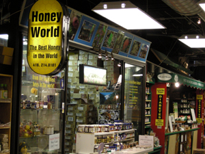honey store in Toronto St Lawrence Market