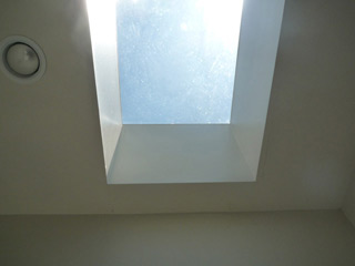 skylight over our tub
